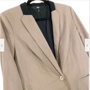 Mossimo Supply Co. Jackets & Coats - Mossimo Button Down Tuxedo Blazer Suit Jacket Med